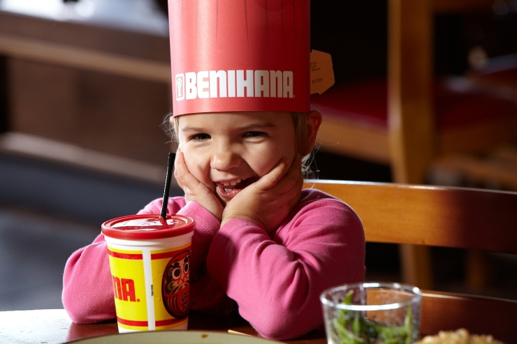 The Kabuki Kids Menu, which doubles as a Benihana Chef Hat, has become a staple of the Benihana experience for every child and far too many adults.