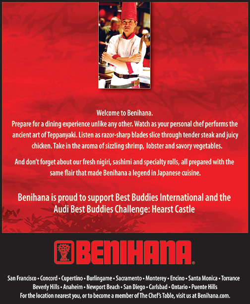 Benihana National Branding