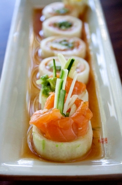 Salmon Cucumber Roll 2