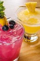 Blueberry Smash - Pineapple Saketini 2